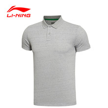 Li-Ning Original Men Shirt Sports Life Style T-shirt Short Sleeve Leisure Men's Clothing GPLL027
