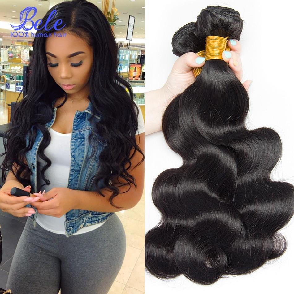 Eurasian Virgin Hair Body Wave 4 Bundles Alibele Hair Unprocessed