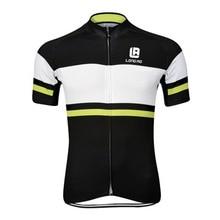 Verano Transpirable de manga Corta Ciclismo Jersey/Bicicleta de Carretera Ropa de Secado rápido Al Aire Libre Ropa Ciclismo LONGAO Ciclismo jersey