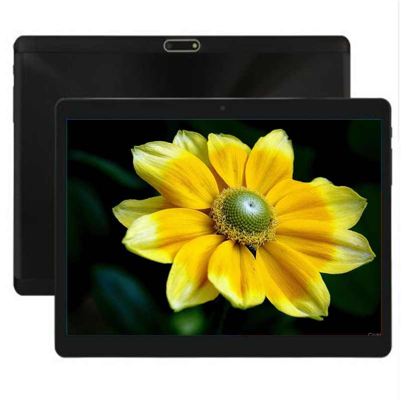 DHL Free 2.5D Tempered Glass 10 inch tablet Android 7.0 Octa Core 4GB RAM 64GB ROM 1280X800 IPS WIFI GPS 3g Tablets 10.1