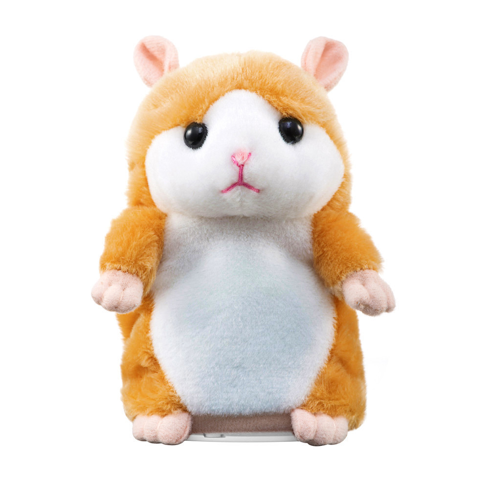 Hot selling64GB Memory Interesting Speak Talking Record Hamster Mouse Plush Kids Toys Singing baby Plush  dropshipping18feb08