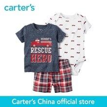 Carter de 3 pcs bébé enfants enfants Peu Court Ensemble 121H166, vendu par Carter de Chine boutique officielle