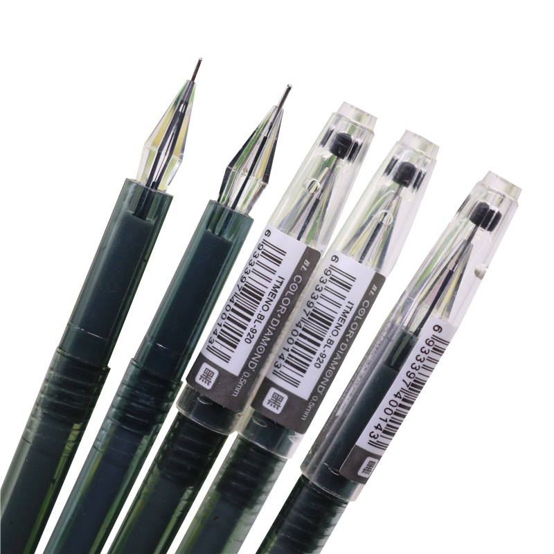 5 Pcs Black Gel Pen Adults And Children Learn General Office Supplies Can Be Used For Painting, Graffiti Exquisite Workmanship