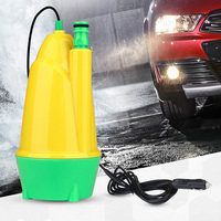 Portable Car Wash Pump Car 12V Submersible Washer Brush Water 10m Automatic Water Absorption