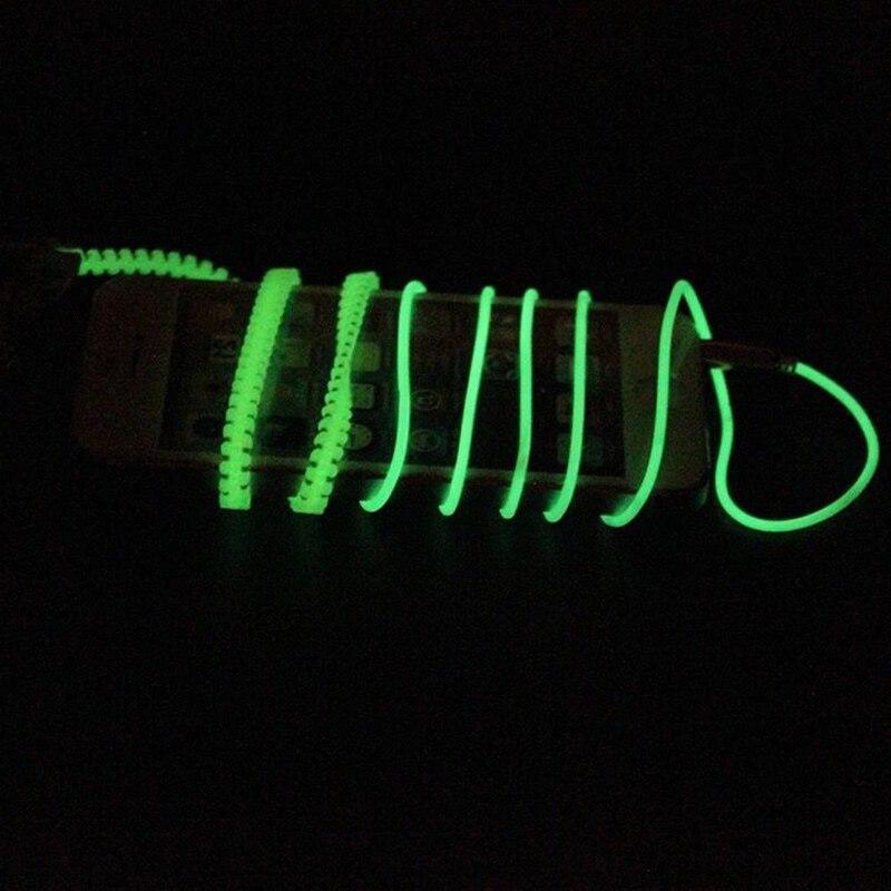 Luminous Earphones Metal Zipper Light Glow Earphones Sport Headphones for iPhone Samsung Xiaomi -Drop