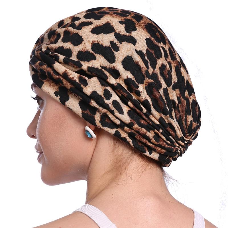 Babalet Wanita Elegant Soft bernafas Floral Leopard Chemo Cancer - Pakaian kebangsaan - Foto 3