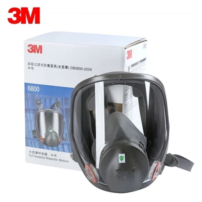 Image 4 - 15/17 In 1 3M 6800 Gas Mask Full Face Respirator Air Filters Welding Spraying Chemical Laboratory Safety Worker Mask-in Chemical Respirators from Security & Protection