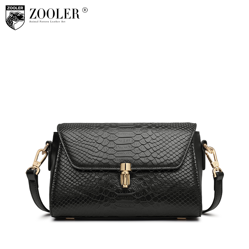ZOOLER Women Genuine Leather Shoulder Bags For Women Large Capacity Messenger Bags Casual Soft Leather Small Crossbody Bag Lady zooler brand high quality women small genuine leather shoulder bags for women messenger bag all match casual tote crossbody bag