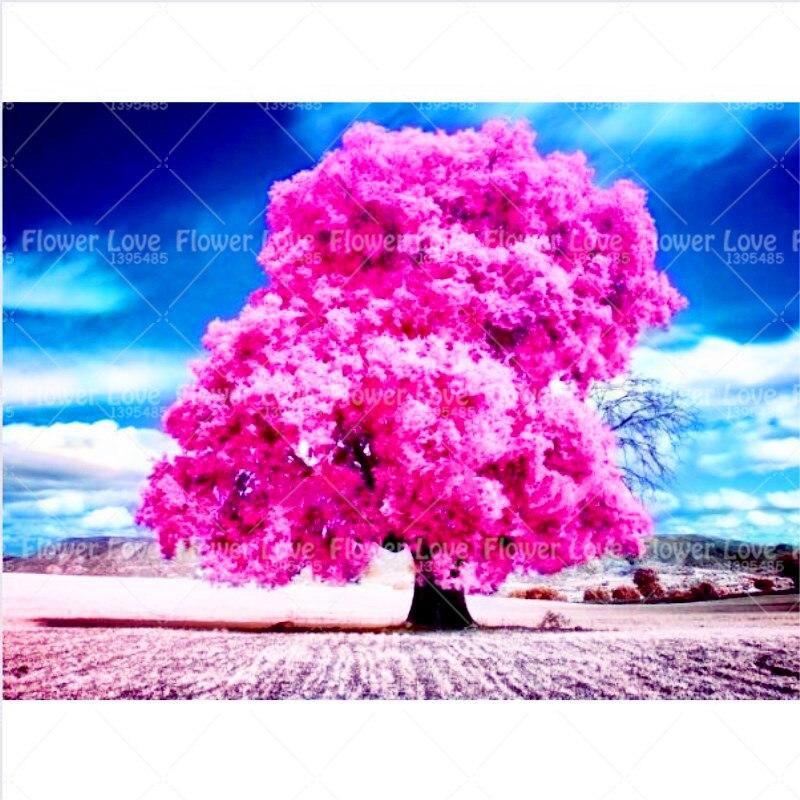 10 шт. и ни в коем случае Cherry цветет бонсай, Вишня Семена пиона Сакура цветок для дома и сада выращивания горшках посадка растений