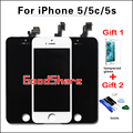 100% Test AAA & No Dead Pixel For iPhone 5/5c/5s LCD Display Screen Digitizer Assembly Replacement Black/White Free Ship+2 Gifts