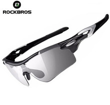 Rockbros Polarized&Photochromati Cycling Sunglasses Men Women Outdoor Sports Bike Bicycle Glasses Cycling Eyewear Goggles