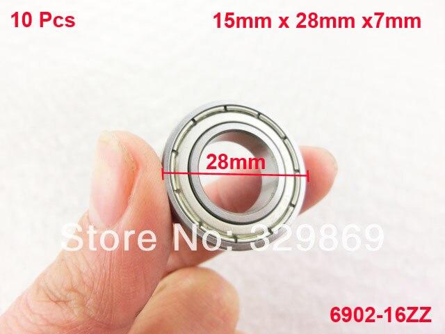 10 ШТ. 6902-16zz 15 мм x