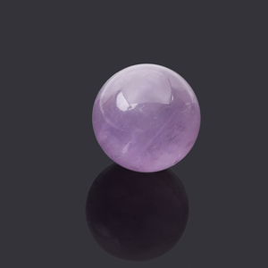 1Pcs DIY Natural Pink Amethyst Quartz Clear Stone Sphere Crystal Fluorite Ball Healing Gemstone Home Decor(China)