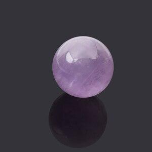 DIY натуральный розовый аметист, кварцевый Прозрачный камень, Сферический Кристалл, флюорит, шар, исцеляющий драгоценный камень, домашний де...
