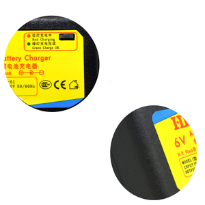 Image 4 - DC7.2V 1A 6 v smart speelgoed auto charger oplaadbare agm loodaccu lader 6 v voor batterij 4ah 4.5ah 7ah 10ah 12ah eu/us plug