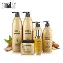 Новые продукты лучшие продажи 6 шт Armalla марокканский профессиональный шампунь и кондиционер для волос+ маска для волос+ аргановое масло ремонтные продукты