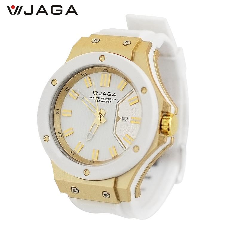 100M Waterproof Wristwatch, Montres De Couple - JAGA 2018 model 2