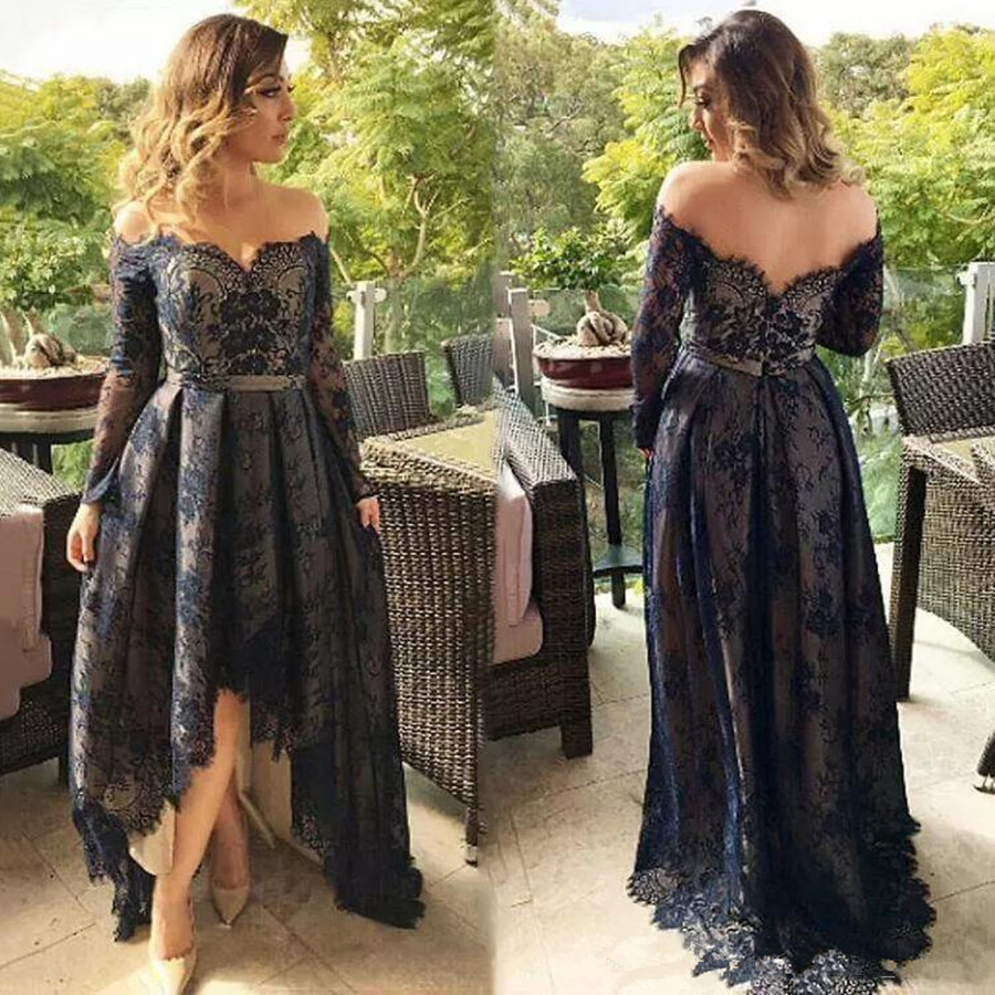 Off The Shoulder Mother Of The Bride Dresses 2019 Plus