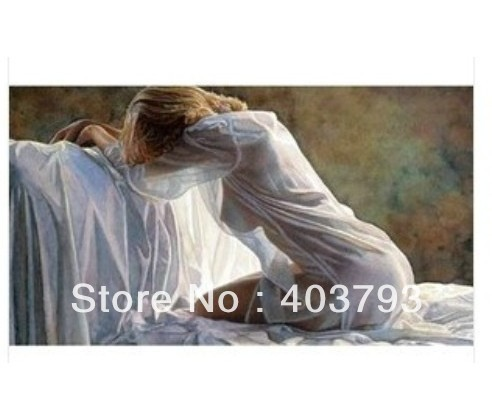 Modern Abstract art oil painting beauty  body on canvas NO framed free shipping