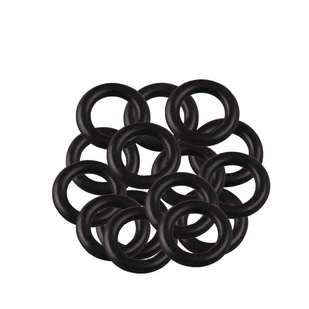 ilure 60pcs Rubber Ring For Soft Bait Black Hung Hook Artificial Worm Lures Leurre Souple Fly Fishing Accessories