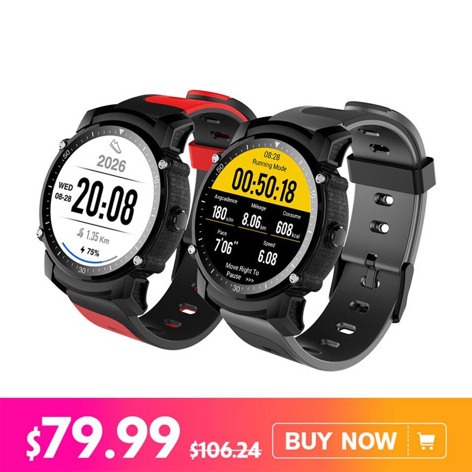 Здесь можно купить  Kingwear FS08 Smart Watch Transflective TFT Screen 1.26inch GPS Heart Rate Monitor Pedometer Compas Smartwatch For Android iOS  Бытовая электроника