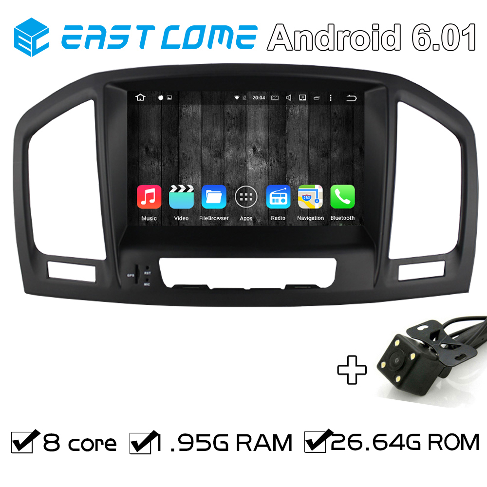 Octa Core 8 Core Pure Android 6.01 Car DVD Player For Opel Vauxhall Insignia 2008 2009 2010 2011 2012 2013 With Rear View Camera