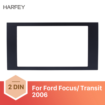 Harfey 2Din GPS Autoradio Stereo Panel Fascia Fitting Frame Dash Mount Kit For 2006 Ford Focus Transit 173*98/178*100/178*102mm image