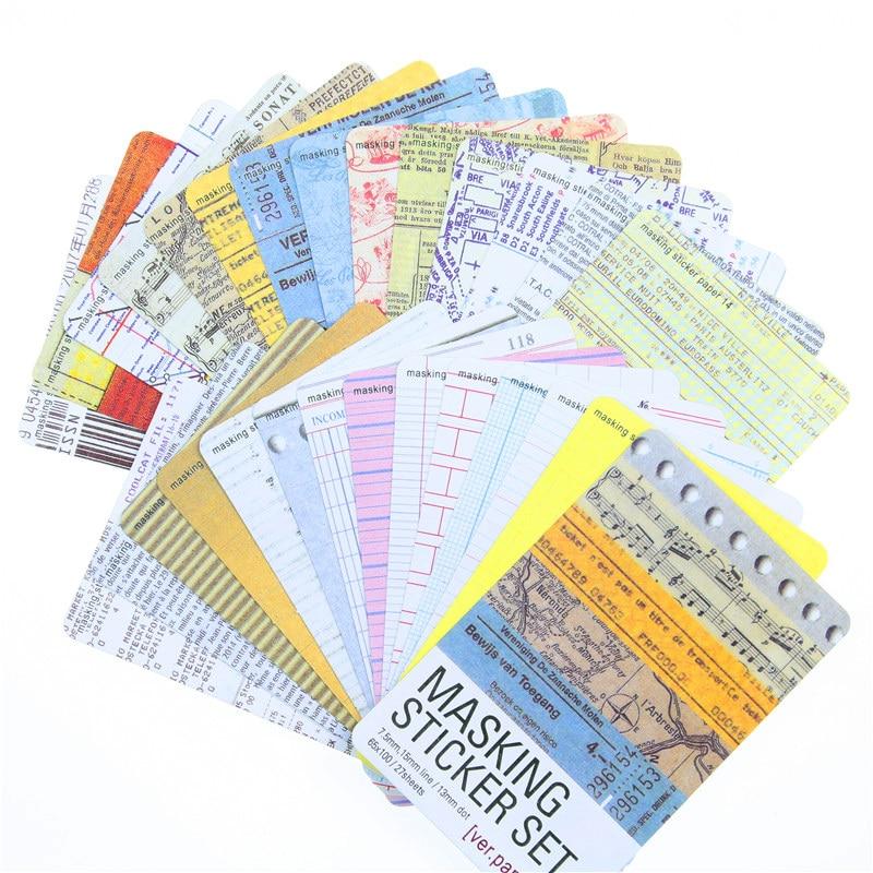 27pcs-set-washi-masking-tape-craft-stickers-set-decorative-stationery-stickers-scrapbooking-diy-diary-album-stick-label