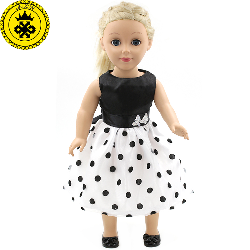 Чёрная юбка кукла