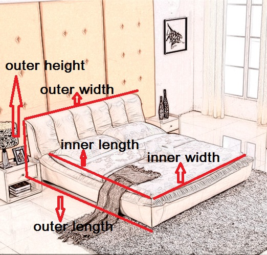 bed size