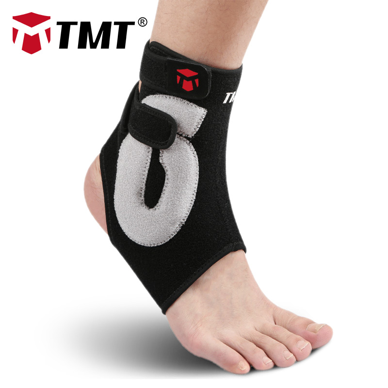 Aggressive Tmt Ankle Support Gym Running Protection Foot Bandage Elastic Ankle Brace Black Band Guard Sport Fitness Support