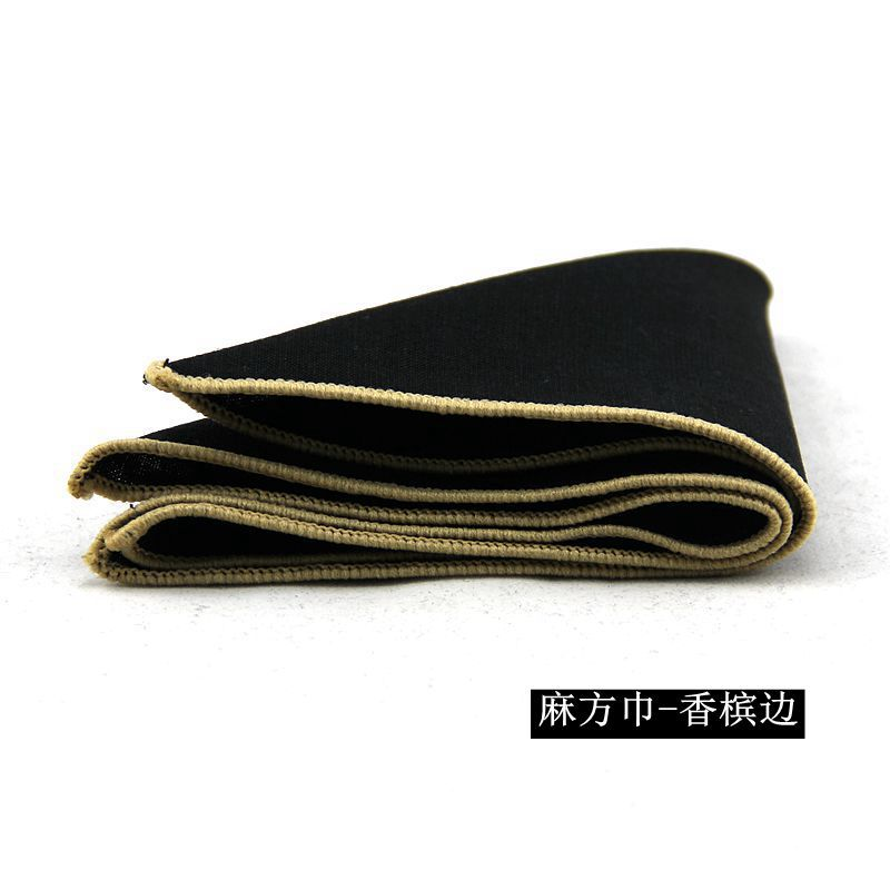 Mantieqingway New Fashion Brand Hankies Men's Pocket Square Handkerchiefs Formal Business Suits Solid Color Handkerchief 23*23cm