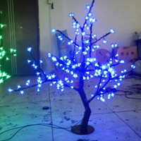 0 8M 3 3ft Height LED Cherry Blossom Tree Outdoor Indoor Wedding Garden Holiday Light Decor