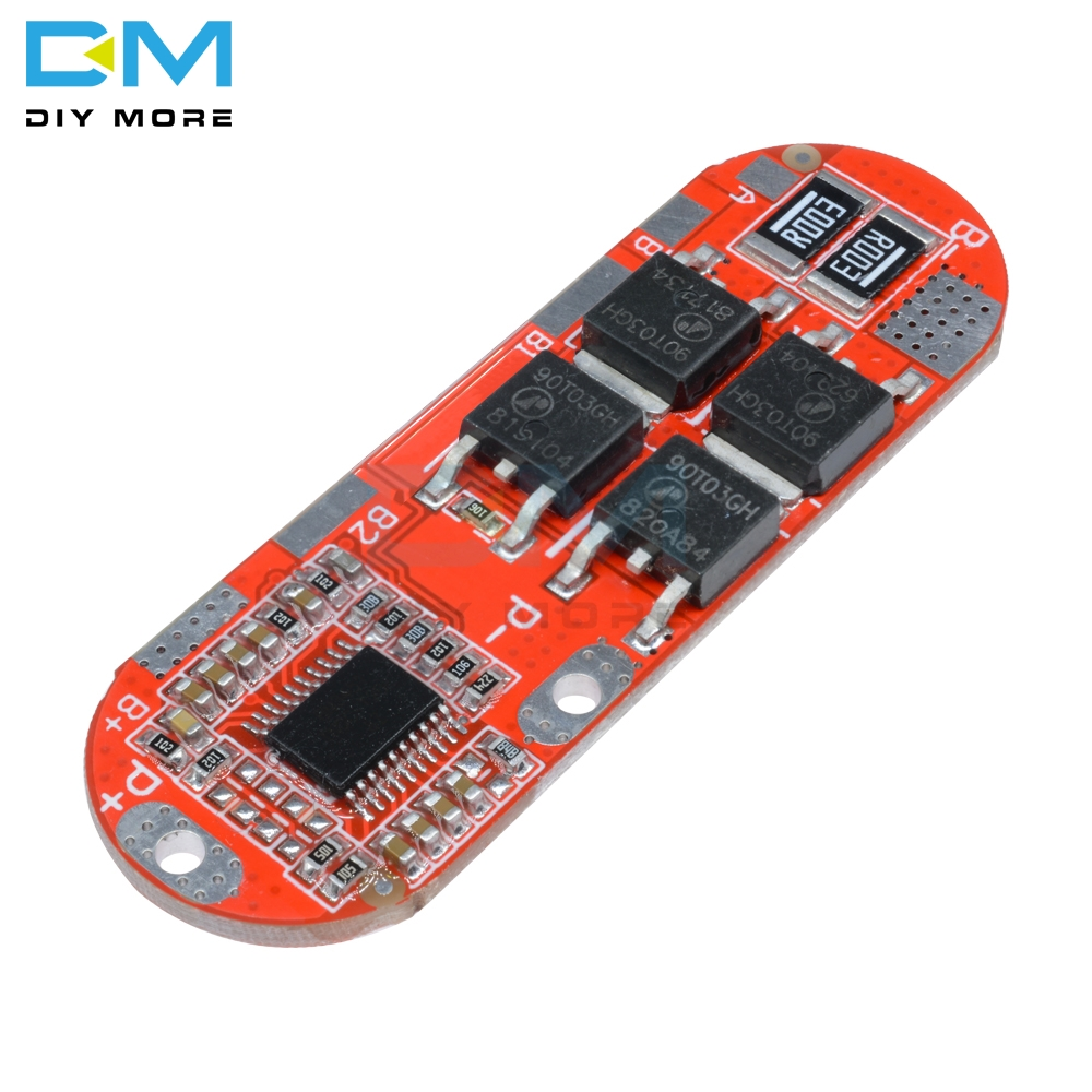 25A 5S 21V 18650 Li-ion Lithium Battery Protection Circuit Charging BMS Board Module PCM Polymer Lipo Cell PCB image