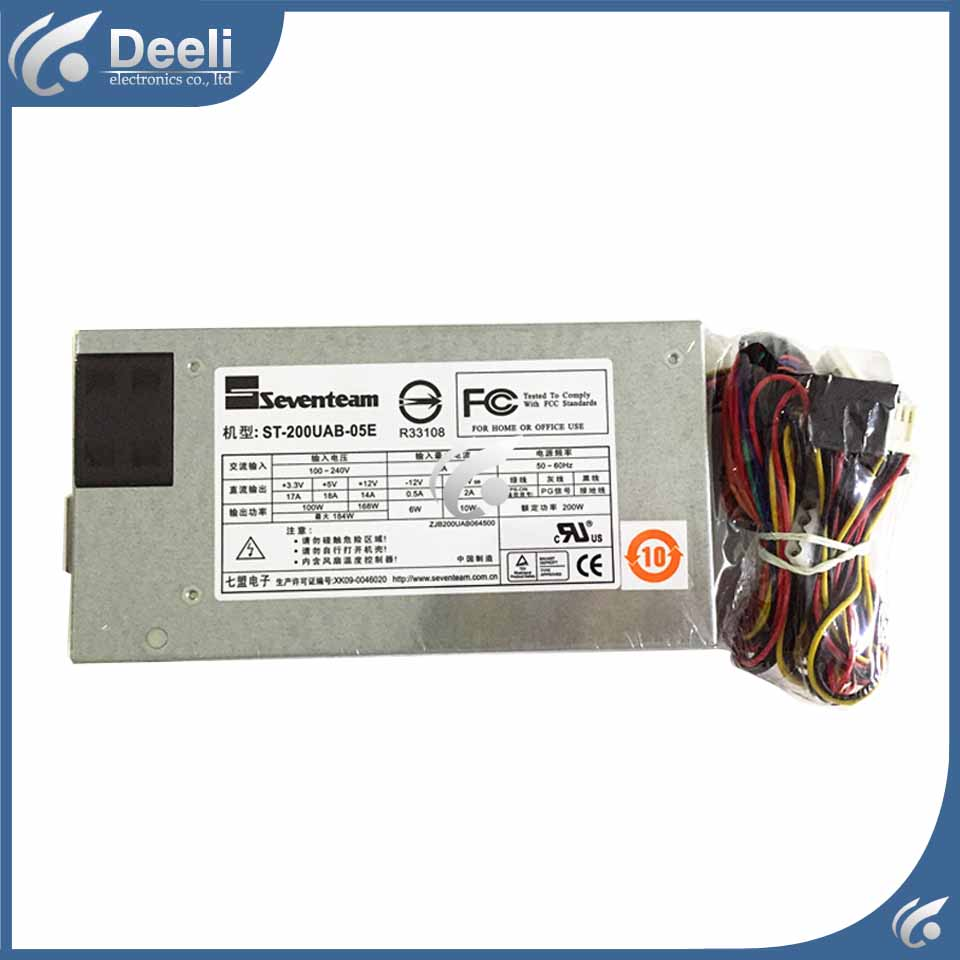 power supply ST-200UAB-05E 1U 100W-200W new