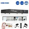 Owsoo 8ch cctv dvr h.264 1080 p p2p red de seguridad teléfono motion control de detección de alarma de correo electrónico ahd dvr para la seguridad cámara