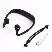 New V9 Ear Hook Bone Conduction Bluetooth 4 2 Sports Headphone Headset With Mic Adjustable Headband