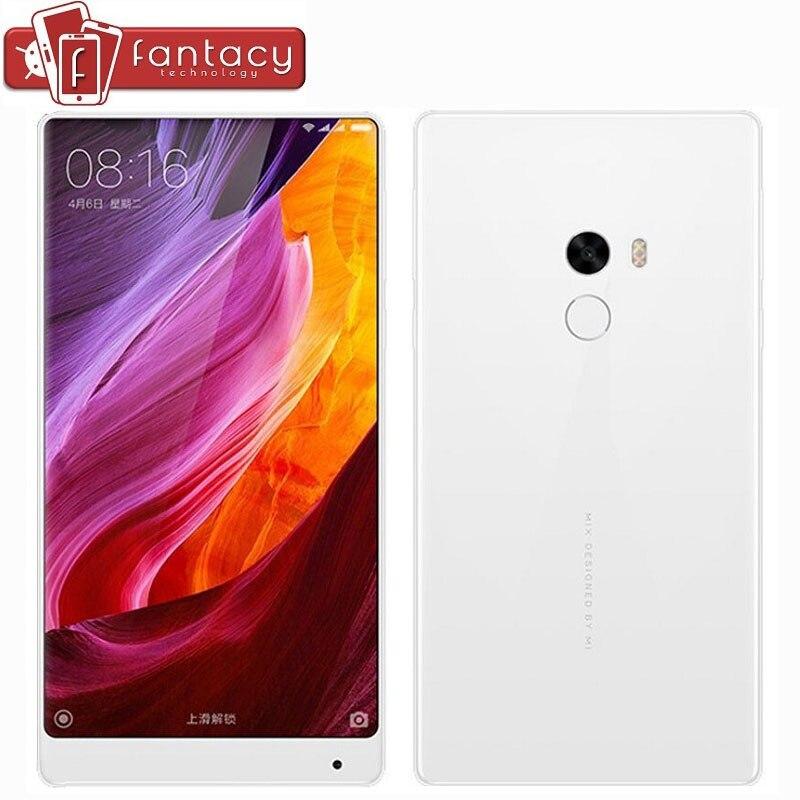 "Цена за Оригинал Xiaomi Mi Mix 4 ГБ 128 ГБ Snapdragon 821 Quad Core NFC FDD LTE 4 Г 16.0MP 6.4 ""2040x1080 P FHD 4300 мАч MIUI Мобильные Телефоны"