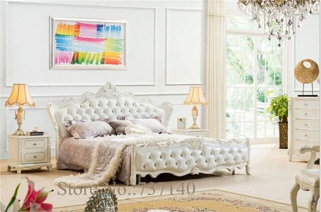 Houten Slaapkamer Meubels : Slaapkamer meubels houten bed lederen bed inkoopagent groothandel