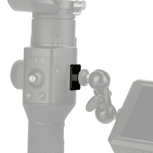 Image 4 - Kamera Monitor Montage Platte Video Verlängerung Adapter Für DJI Ronin S Gimbal Extender Stabilisator mit 1/4 Schraube Für magie Arm Mic