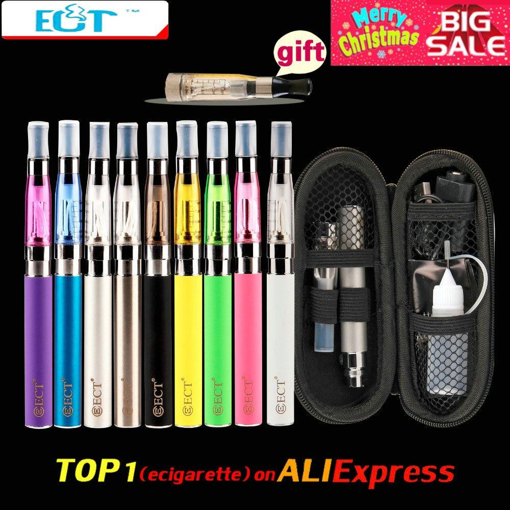 ECT eGo CE4 e cigarrillo cremallera caso eGo Kit 650 mAh 900 mAh 1100 mAh 1300 mAh batería t ego CE4 atomizador 1,6 ml cigarrillo electrónico