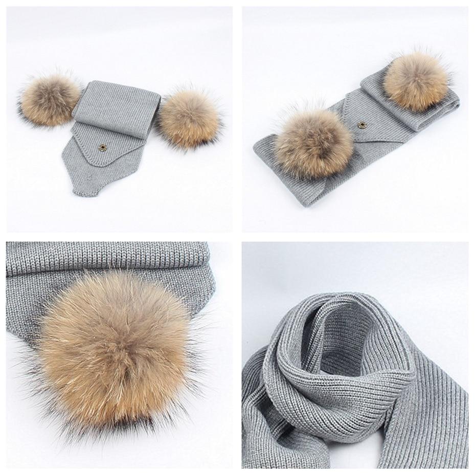 ... Pom Hat Crochet Cap. . Girls Boys Warm Winter Knit Beanie Outdoor Hat  Scarf set Newborn Infant Baby Toddler Kids Hats. sku  32878445768 332638cb4eb3
