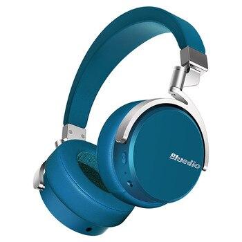 Bluedio Vinyl Premium Wireless Bluetooth Headphones Dual 180 degree Rotation Design On Ear Headset With Microphone