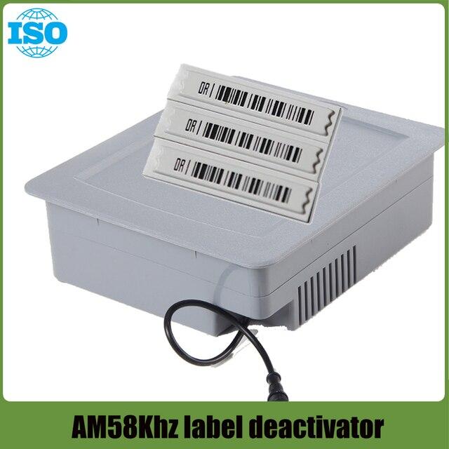 EAS AM DR Soft Label Deactivator 58Khz Tag Alarm Deactivator for Retail Anti theft System 1set