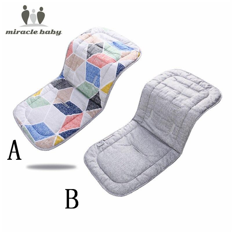 New Baby Stroller Cushion Soft Baby Car Pram Pad Kids Cart Seat Cotton Chair Mat