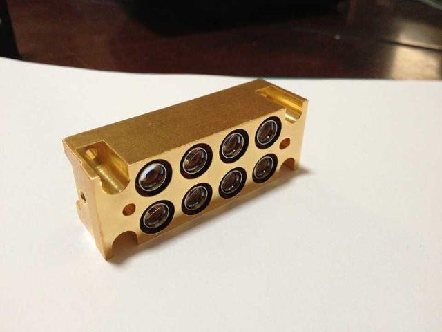 8pcs/array Nichia 450nm 3.5W blue laser diodes /NDB7A75/30W 445nm laser bar/array