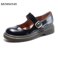 XIUNINGYAN Women Handmade Shoes Fashion Real Cow Leather Womens Flats Casual Shoes Slip On Women S