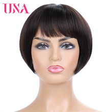 Brazilian Human Hair Wigs Non-Remy Hair BOBO Wigs Straight Machine Human Wigs 8 Inches Long 11 Colors Available bobo bo 113 page 8