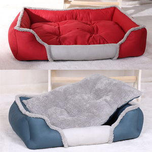 Image 3 - Pet Dog Bed For Large Dogs Washable Puppy Pet Cat Beds Mats Waterproof Dog House Kennel Autumn/Winter Warm Soft Dog Baskets Nest