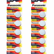 10 шт. PANASONIC батарея таблеточного типа CR2016 часы 3 v батарея. Игрушечная машинка на радиоуправлении батарея